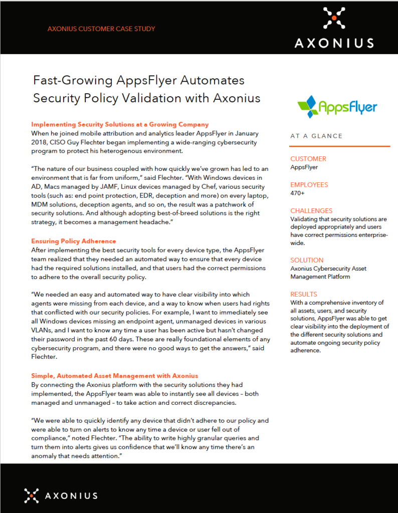 appsflyer case study